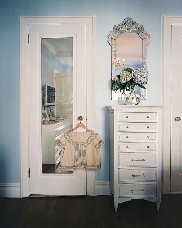 Suzie: Lonny Magazine   Tonia U0026 Victoria Thompson   White Dresser Chest  With Brass .