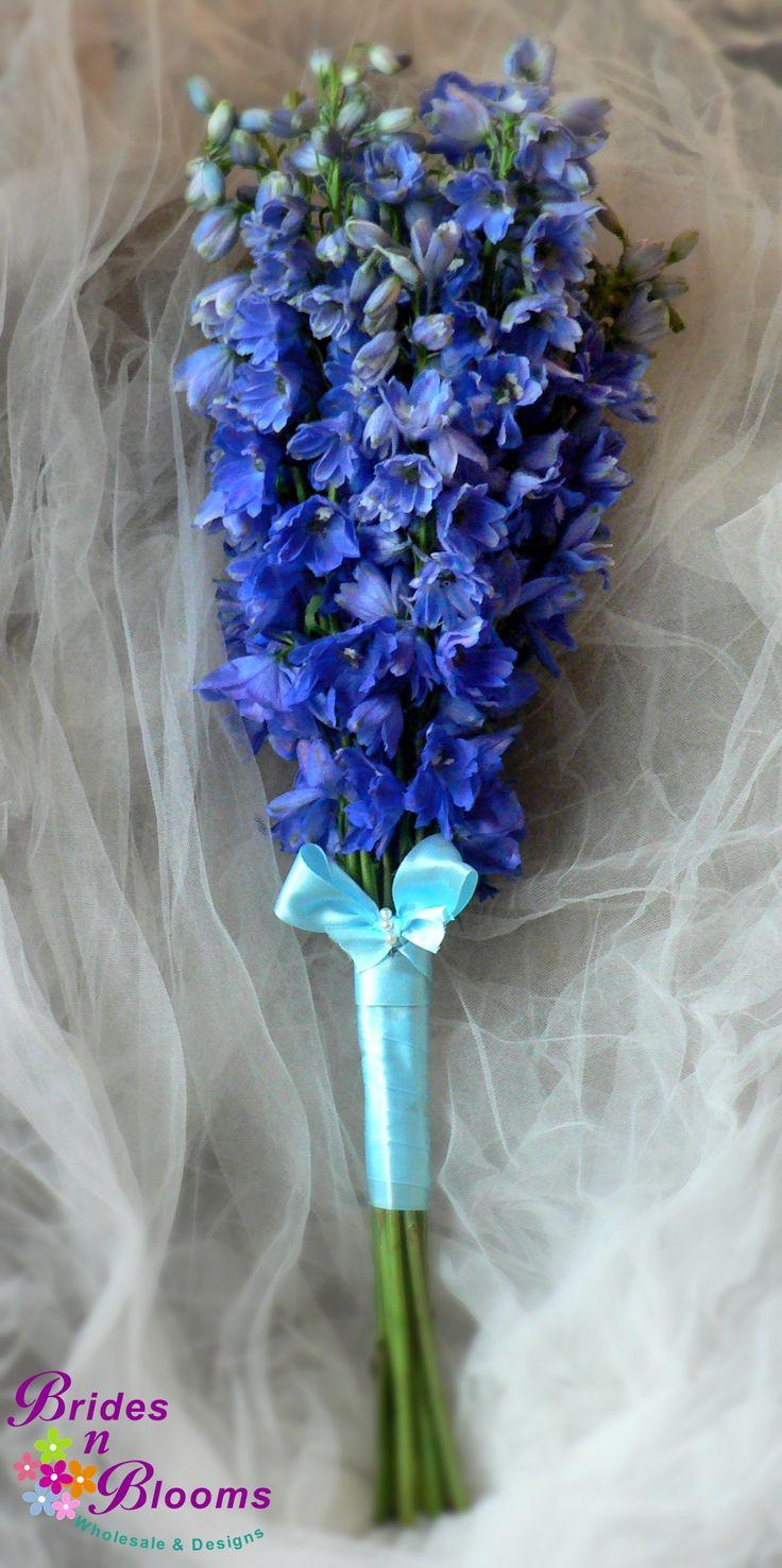 Blue delphinium bouquet mixed flowers bouquets pinterest