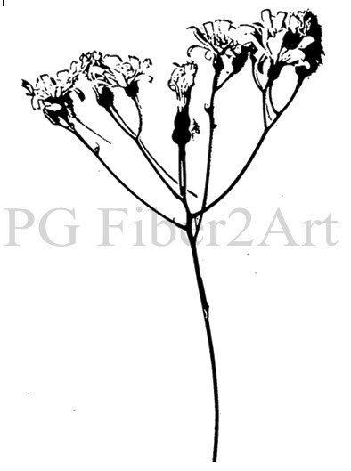 Merrymount Wildflower by PGFiber2Art on Etsy, $12.00