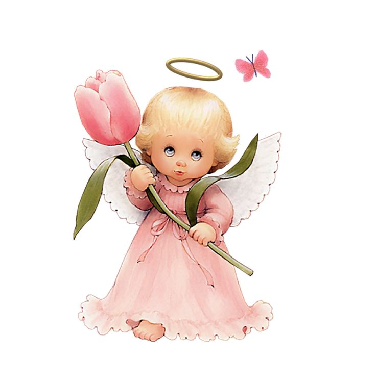 cute little angel | Motivos & plantillas infantiles ...
