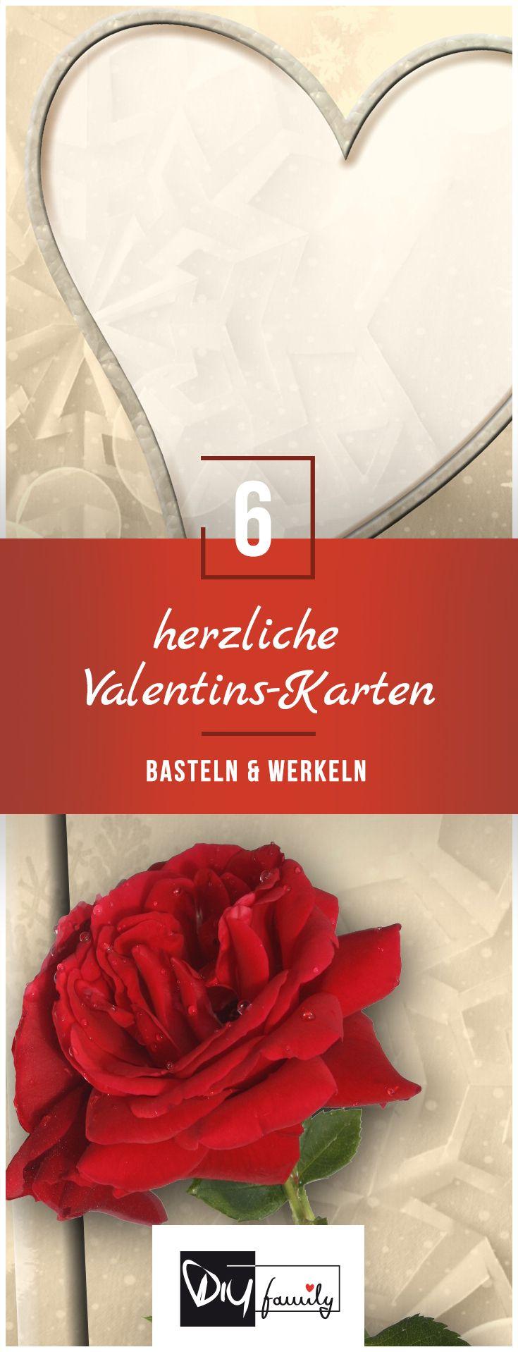 Valentinstags-Karten - die 6 originellsten herzlichen Ideen