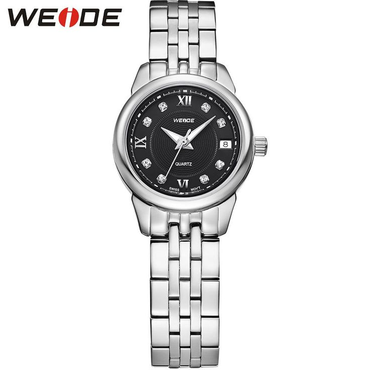 WEIDE Luxury Brand Quartz Stainless Steel Business Watches For Women Analog Display Round.     Brand: WEIDE   Item:WG93009    Style: Sport, Casual, Outdoor, Business    Display: Analog & Complete Calendar     Movement: Original SwissRONDA 585 Quartz Movement    Band Material: solid stainless steel 304L         Description:    - Original SwissRONDA 585 Quartz Movement     - Complete calendar display     - Austria sapphire glass,high abrasion resistant;     - 304L solid stainless steel case…