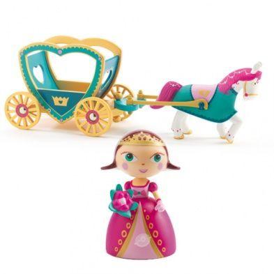 Djeco Arty Toys Figur Prinzessin Alycia mit Kutsche - Bonuspunkte sammeln, auf Rechnung bestellen, DHL Blitzlieferung!