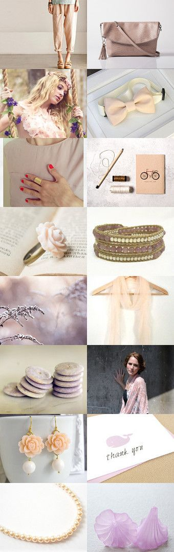 ~~ Soft colors ~~ by Noa Avneri on Etsy--Pinned with TreasuryPin.com