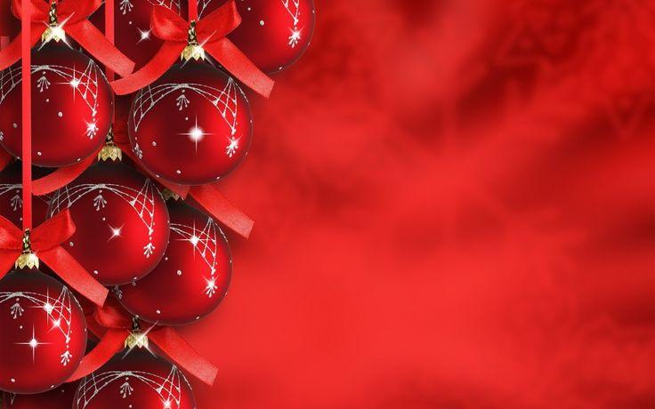 christmas backgrounds  | Christmas Background | Free Red Christmas Backgrounds | Red Christmas ...