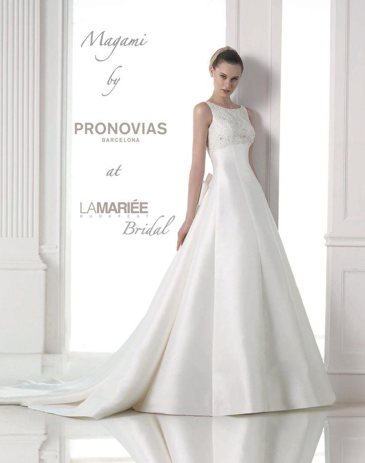 Magami esküvői ruha - Pronovias http://lamariee.hu/eskuvoi-ruha/pronovias/magami