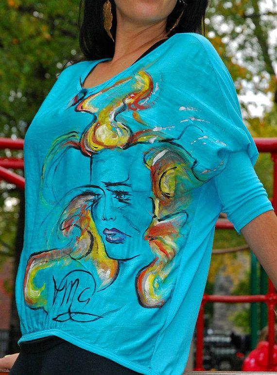 Goddess of Beauty Aqua Top