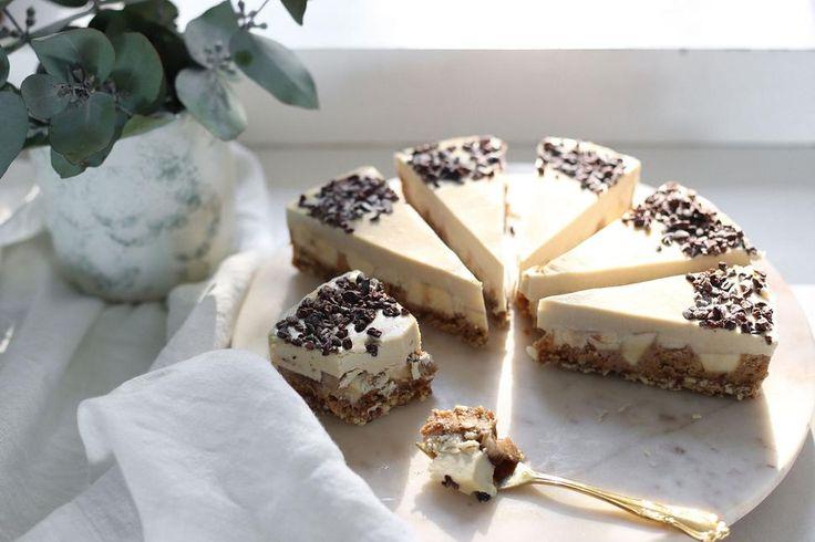 Eleanor Ozich's raw banoffee pie