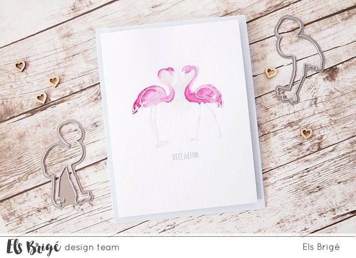Flamingo {heart} + procesvideo voor Els Brigé design