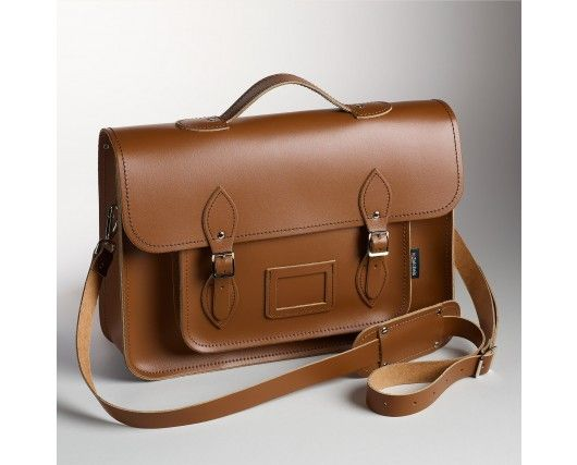 Coming soon....chestnut traditional satchel - with optional backpack straps