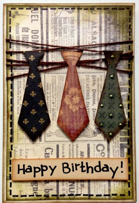 Card: Birthday card for gentlemen
