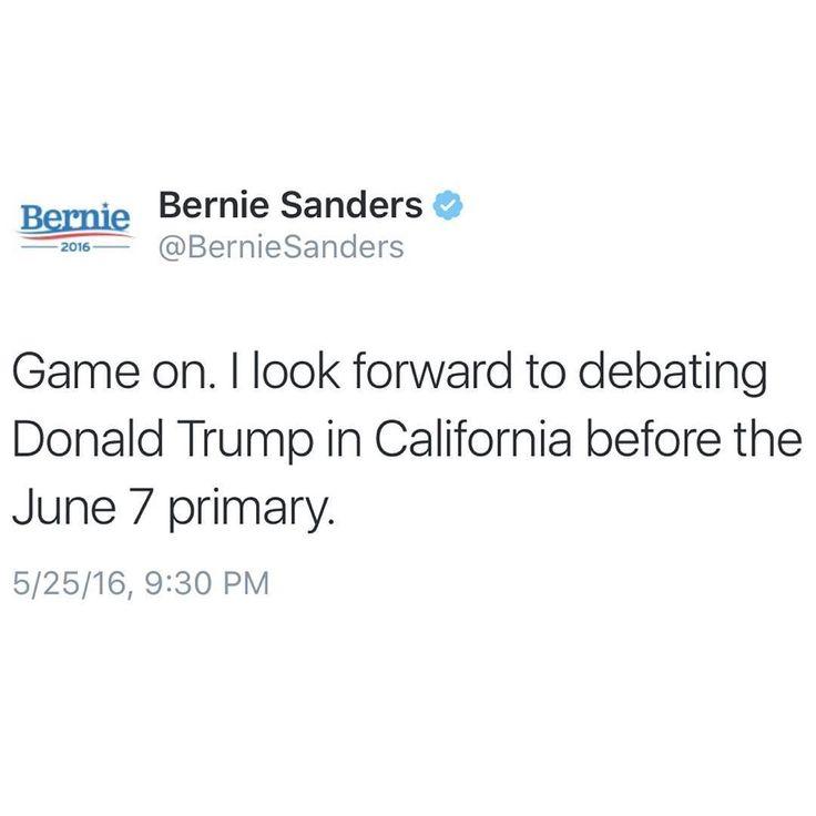 It's. Fucking. ON!    Turn On Post Notifications!  Register To Vote  Raise Awareness For Our Revolution  Donate to Bernie  #FeelTheBern #BernieSanders #Bernie2016 #Hillary2016 #Obama #HillaryClinton #President #BernieSanders2016 #election2016 #trump2016 #Vegan #GoVegan #BlackLivesMatter #SanDiego #Vote #California #Cali #BernieOrBUST #CaPrimary #WhichHillary #NeverHillary #HillaryForPrison #Losangeles #DropOutHillary #Fresno #Sacramento #oakland #sanfrancisco  by president.sanders