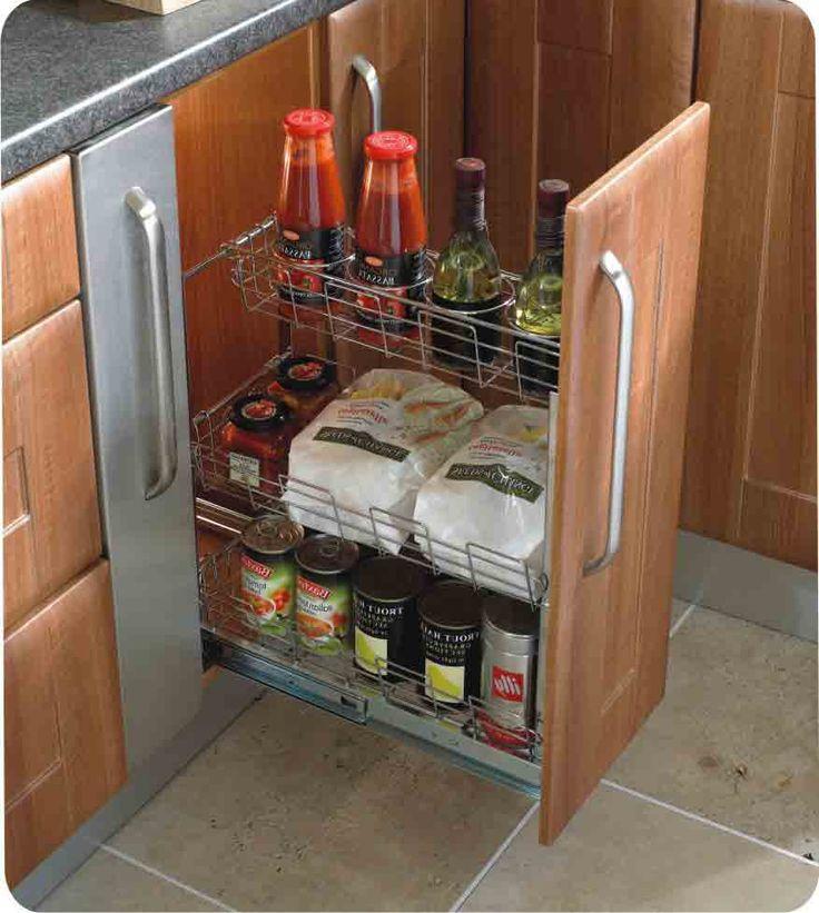 Herrajes sorano para cocinas y closet organizadores bajos for Herrajes para cocina
