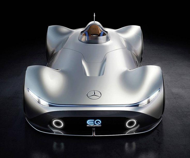 Mercedes Benz Vision Eq Silver Arrow Concept Car Arrow Car Concept Eq Mercedesbenz Silver Vision Autodesign Mercedes Benz 3 Bmw
