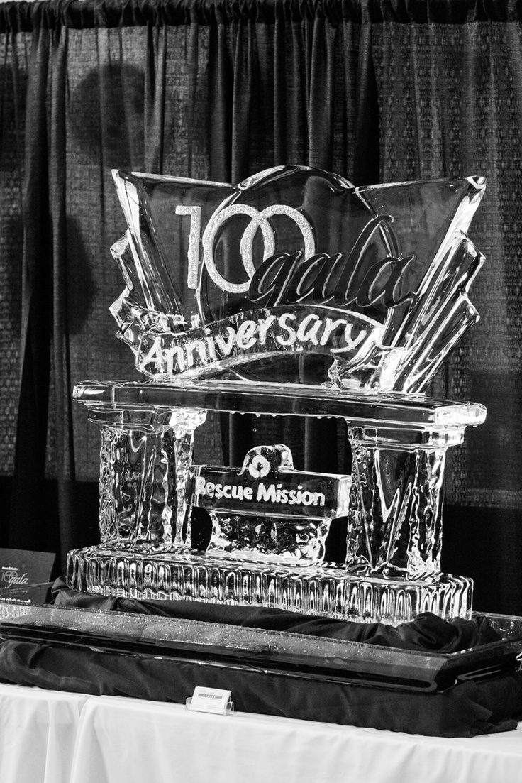 100th Anniversary Ice Sculpture