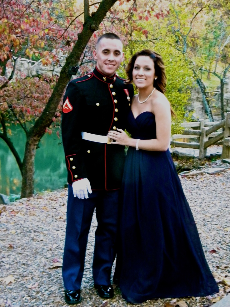 Marine Corps Birthday Ball- love that dress!