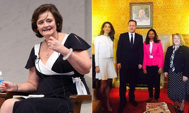 Minister bans Cherie Blair from the Foreign Office