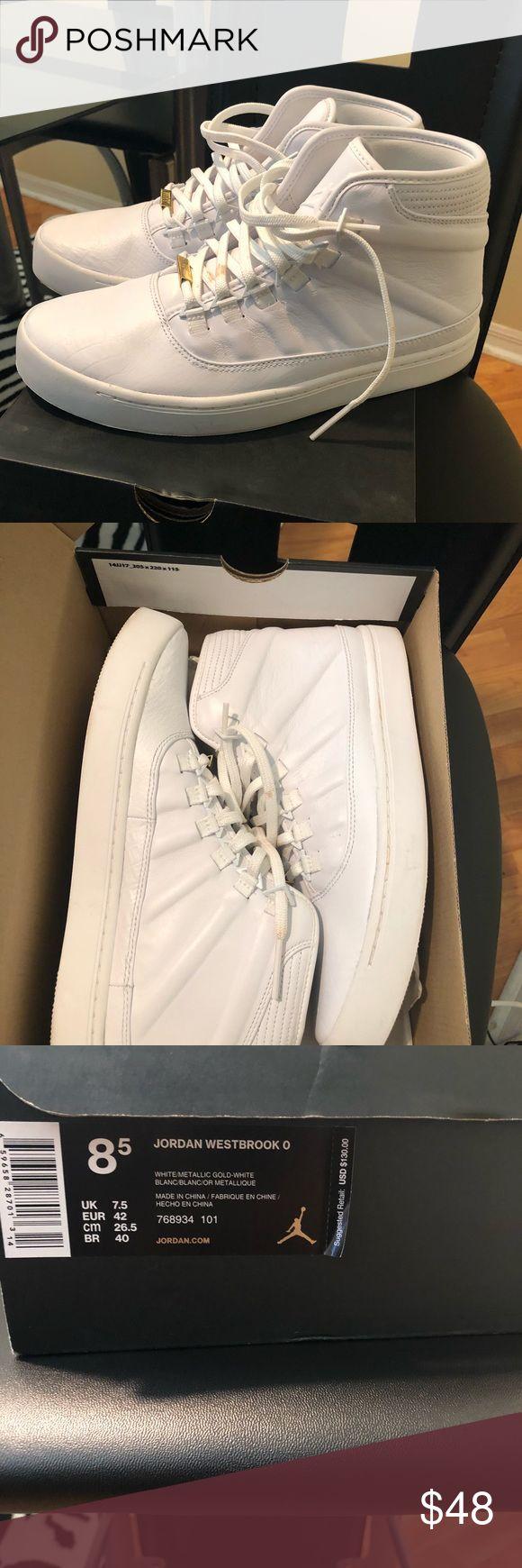 {Jordan} Westbrook Sneakers Worn once. Box is included. Open to reasonable offers. Jordan Shoes Athletic Shoes