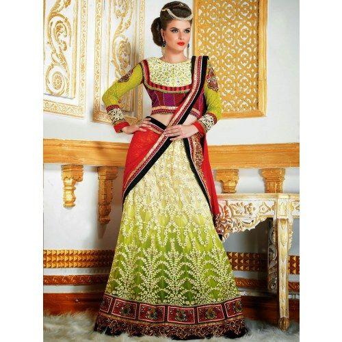 New Bridal Lehanga choli Latest Fashion Diwali Gifts 304 - Online Shopping for Lehnga by SAREEZ HOUSE