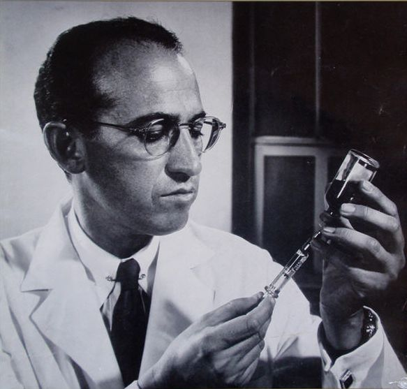 #TodayInCAHistory: #CAHallofFame inductee Jonas Salk died in La Jolla, CA on June 23, 1995 at the age of 80. A medical researcher and virologist, Salk discovered and developed the first successful polio vaccine in 1955.