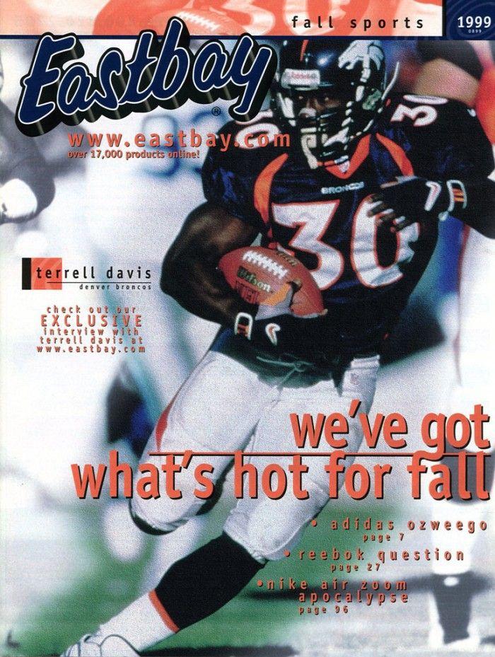 32c9c6f7066 ... Black Terrell Davis Covers August 1999 Issue 1996 ...