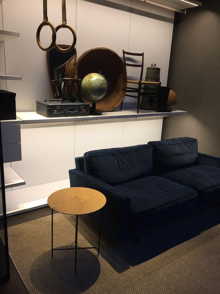 Il divano Blu in velluto… il più visto al Fuori Salone 2017 | Home by N