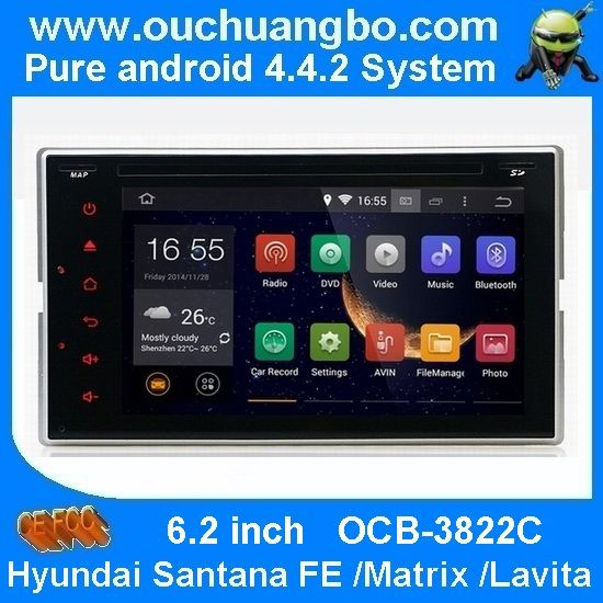 Ouchuangbo car radio gps navi for Audi A4 Q5 2009 2014 android 4 4 quad core