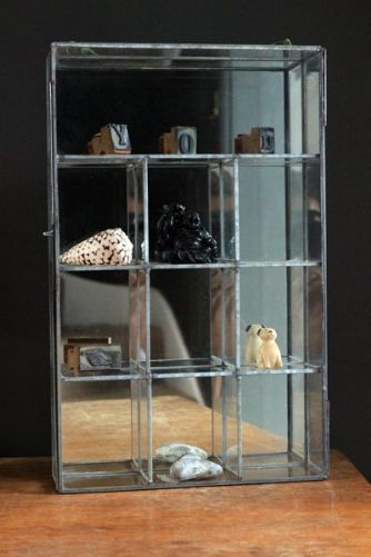 Mirrored Wall Display Box - Large or Small