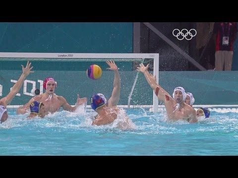 Water Polo Men's - Group B - Great Britain v Montenegro -  London 2012 O...