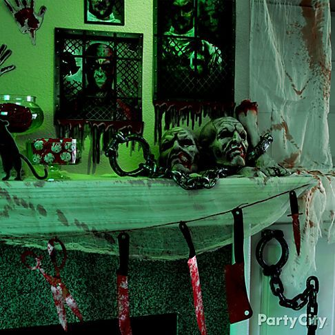 take the madness out of party planning with asylum halloween party supplies asylum halloween party supplies feature a deadly hospital motif on decorations