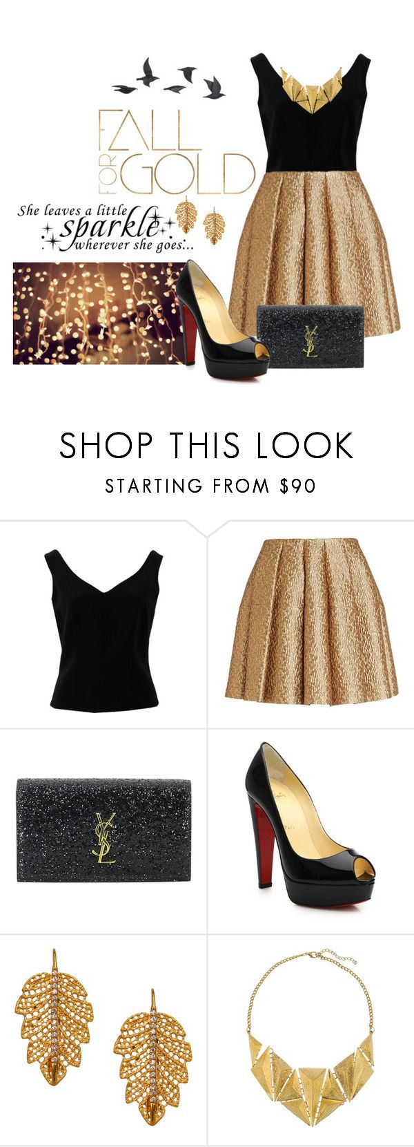 """""""#345"""" by crimsonday ❤ liked on Polyvore featuring ADAM, Creatures of the Wind, Yves Saint Laurent, ...Lost, WALL, Christian Louboutin, Marika, 8 and Jayson Home"""