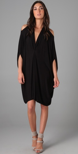 Black cut out Gwyneth caftan dress by Rachel Pally at shopbop