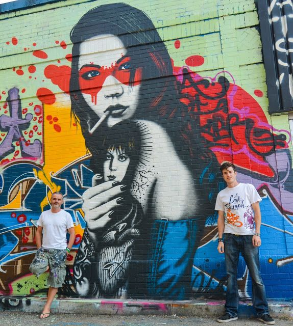 Streetart: Fin DAC New Mural in Minneapolis // USA (11 Pictures)