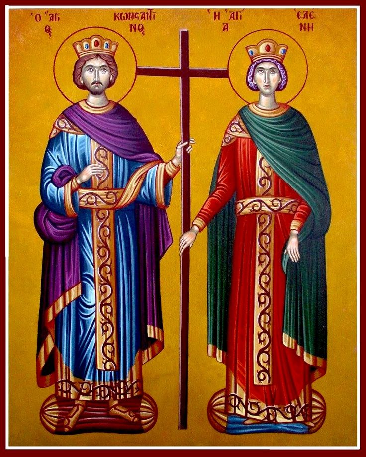 St. Constantine & St. Helen by John Papadopoulos