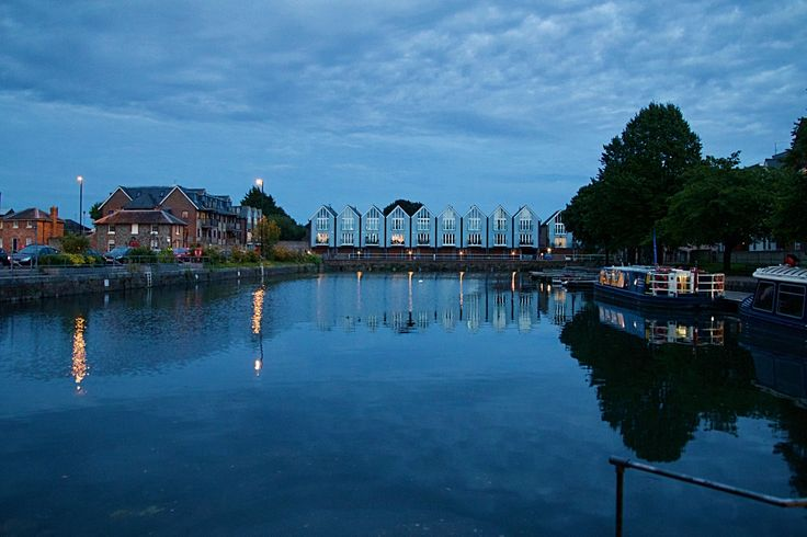 Chichester Canal at Night