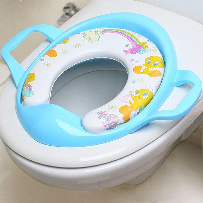 Elongated Toddler Toilet Seat