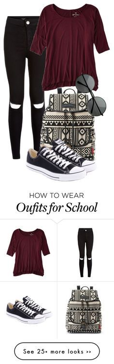 """First day of school"" by adrijana-fashion on Polyvore"