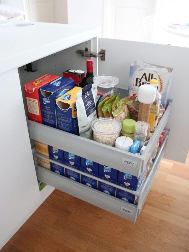 Keittiön säilytysratkaisut - kurkkaus kaappeihin ja laatikoihin!