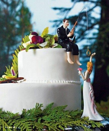 La top-list delle statuine più strane per torte nuziali