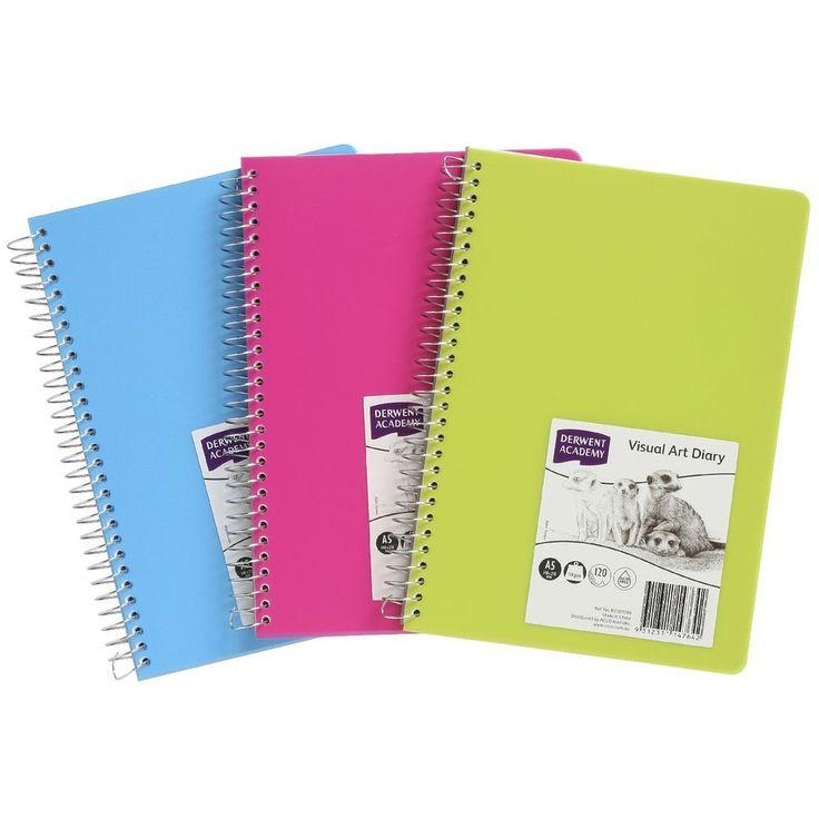 Derwent Coloured Visual Diary A5