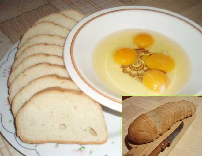 Готовим гренки с молоком и яйцом. Рецепт гренок с фото. Вы узнаете, как правильно жарить гренки с яйцом и молоком. Инструкция о том, как сделать гренки с яйцом