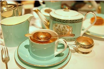 Tea at Fortnum & Mason, London