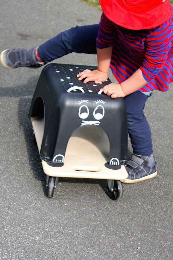DIY Rutschauto | Wie du ein Kinderauto selber bauen kannst #kreativfürkinder | Mimimia | Schoene Sachen selber machen | DIY