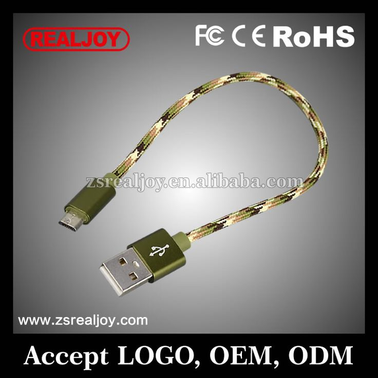RJC4028-B best selling products fast speed short charger micro usb cable wire