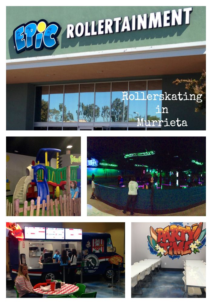 Epic rollertainment, roller skating rink in Murrieta is now open!!