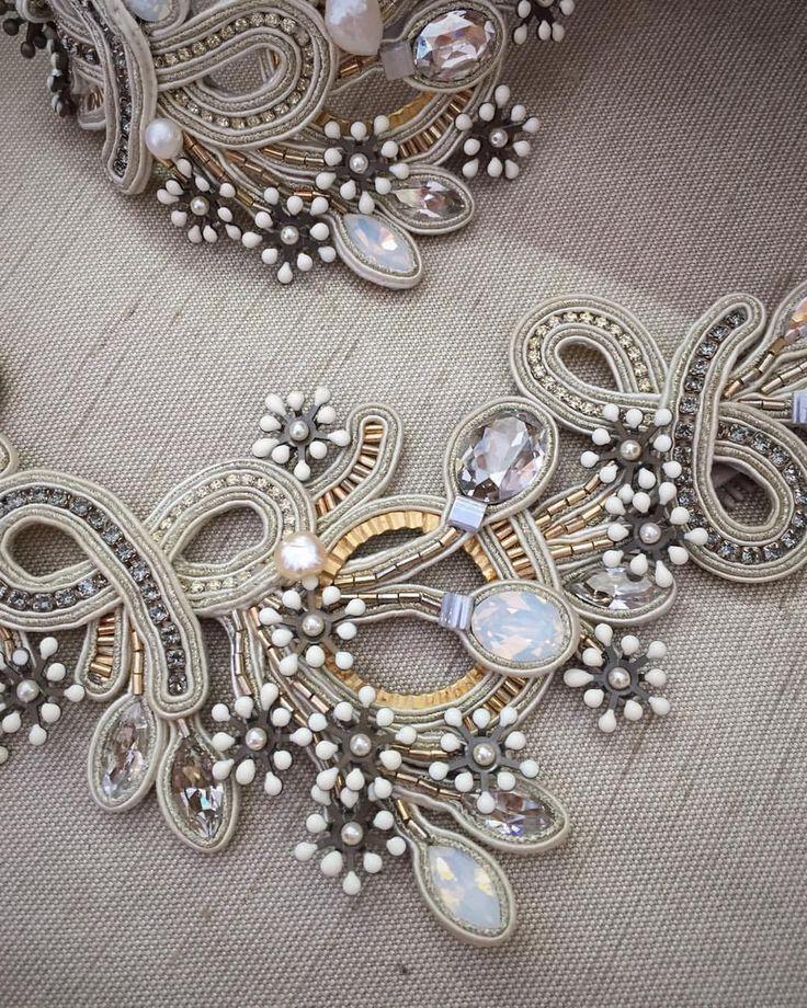 Romantic jewelry by Dori #doricsengeri #jewelrylove #bridal #wedding #weddingaccessories #bridejewelry #whitejewelry #unique #handmadejewelry #oneofakindjewelry #specialday
