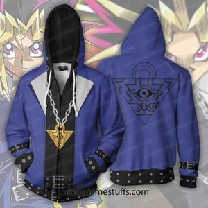 c341317cf290 Yugi Muto Zip Up Hoodie Only $5.99 for Worldwide Shipping & Handling This  item is NOT available in other stores FREE SHIPPING on orders over $50  SECURE ...