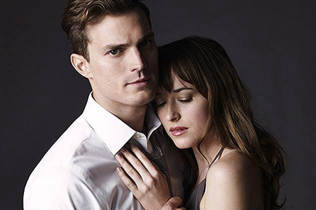 Christian Grey and Anastacia Steele -Fifty Shades of Grey.