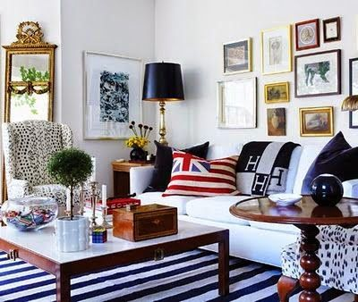 eye for design creating preppy eclectic style interiors - Preppy Home Decor