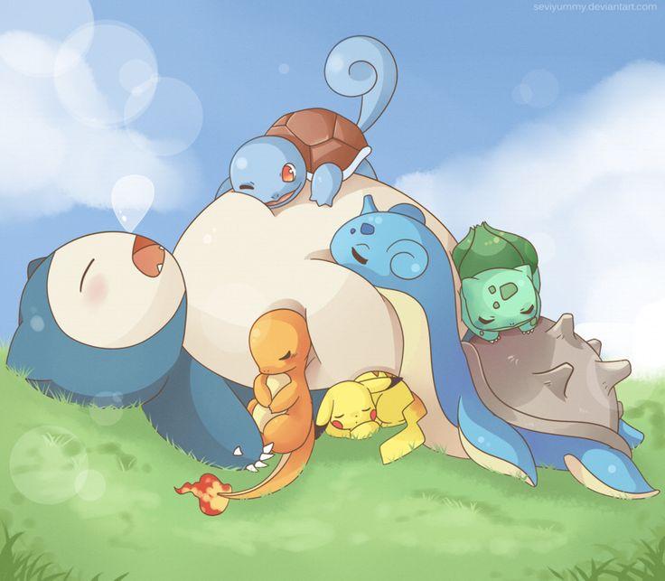 Sleepy Team by SeviYummy.deviantart.com on @DeviantArt